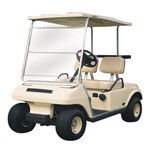 Classic Accessories Standard Portable Golf Cart Windshield (Universal Fit)