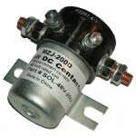 48-Volt 4-Terminal Silver Solenoid (Universal Fit)