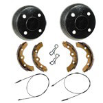 Buggies Unlimited Deluxe Brake Kit - Club Car Precedent (Fits 2008-Up) G+E