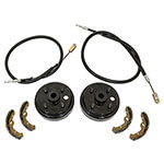 Buggies Unlimited Deluxe Brake Kit - EZ-GO TXT (Fits 2009-Up Gas)