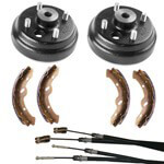 Buggies Unlimited Deluxe Brake Kit - EZ-GO T48 (Fits 2009-Up Electric)