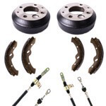 Buggies Unlimited Deluxe Brake Kit - Yamaha (Models G14, G16, G19, G20 Electric)