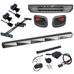 Buggies Unlimited Road Ready Kit (Light Bar) - E-Z-GO TXT (Fits 1996-2014)