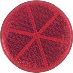 Red Quick-Mount Reflector (Universal Fit)