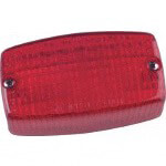 Tail Light Lens CC/ EZGO (306-25r)