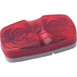 Red 12-Volt Surface Mount Tail Light (Universal Fit)