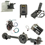 Complete Remanufactured E-Z-GO TXT/ T48 Full Electric Powertrain Kit