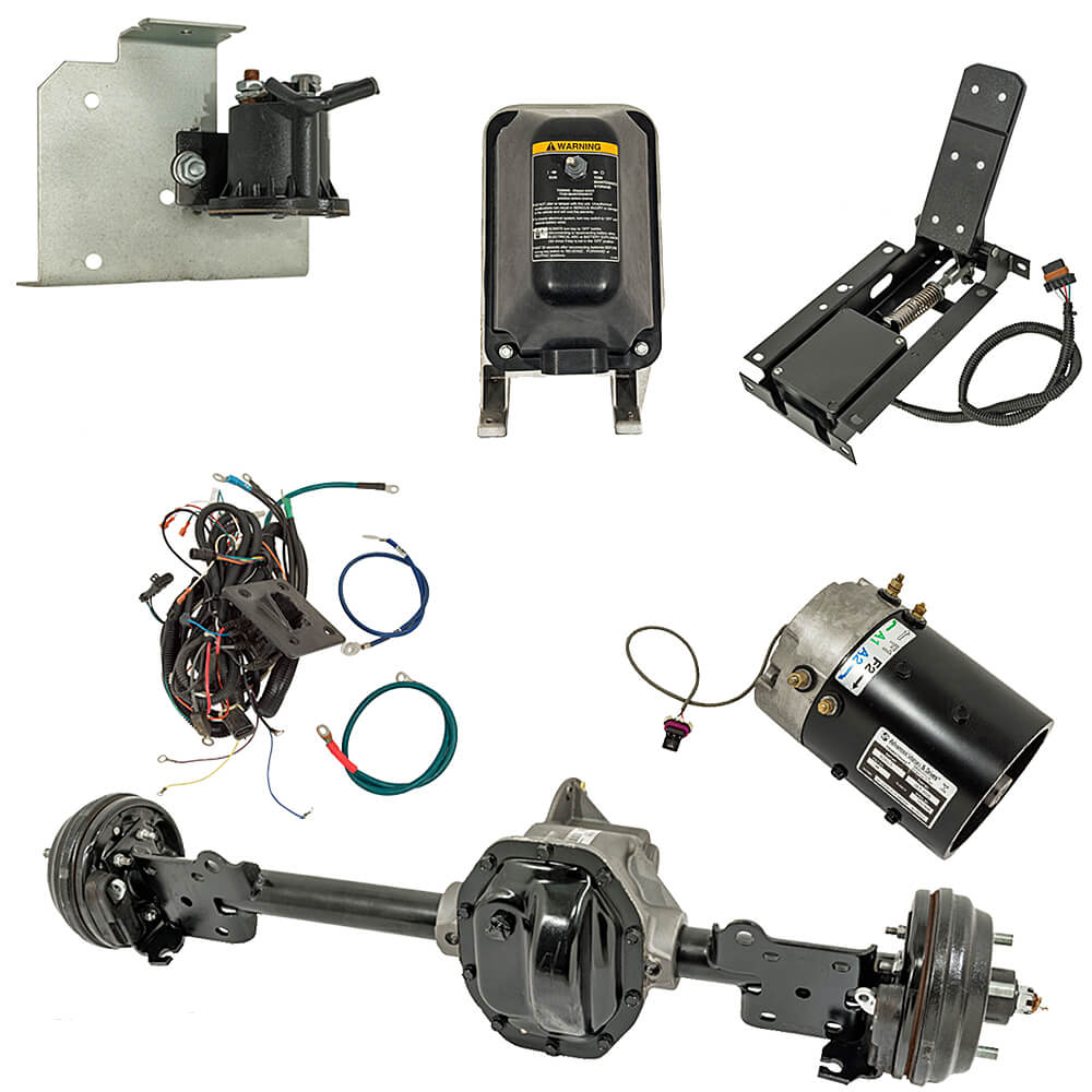 Complete Remanufactured E-Z-GO TXT/T48 Full Electric