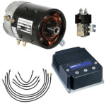 High Torque Motor & Controller Conversion System - Club Car DS Regen I & II