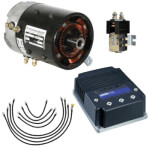 Speed & Torque Motor/ Controller Conversion System - Club Car DS Regen I & II