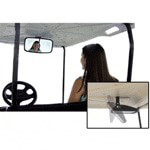 Fold-down Convex Rear-View Mirror (Universal Fit)