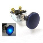 12-Volt 30-Amp Push-Pull Switch W/  Blue Light (Universal Fit)