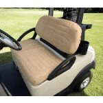 Sand-Colored Padded Seat Covers (Fits Select Club Car /  E-Z-GO Models)