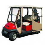 DOORWORKS ENCLOSURE FOR EZGO TXT 94.5-UP(TAN)