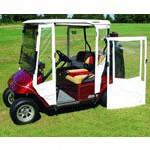 DOORWORKS ENCLOSURE FOR EZGO TXT 94.5-UP(WHITE)
