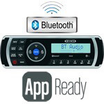 Jensen AM /  FM Bluetooth Radio Kit W/  APP Control (Universal Fit)