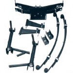 "8"" Club Car DS A-arm Lift Kit (Fits 1982-Up)"