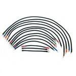 E-Z-GO Electric 4-Gauge Heavy-Duty Weld Cable Set (Fits 1988-1994)
