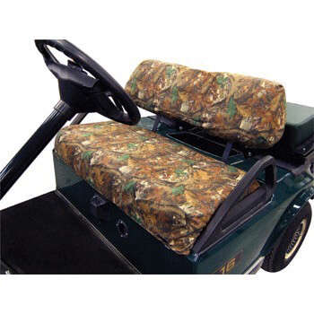 Camo Club Car Ds Slip On Seat Cover Set Fits 2000 5 Up