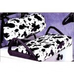 Club Car Precedent Acrylic Cow Pattern Seat Cover (Fits 2004-Up)