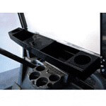 Club Car DS Black Dash Organizer /  Beverage Tray (Fits 1982-Up)
