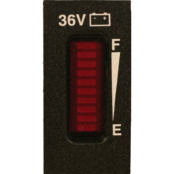 Curtis 36 Volt Battery Charge Indicator Universal Fit