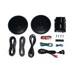 Speaker Kit W/  MP3 Mini-Plug (Universal Fit)