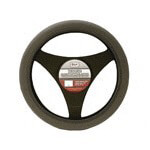 Dark Gray Neoprene Steering Wheel Cover (Universal Fit)