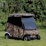 E-Z-GO RXV Camo 3-Sided Over-the-Top Enclosure (Fits 2008-Up)