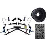 "Club Car DS Jake's 6"" Double A-Arm  Lift /  Wheel & Tire Combo (Fits 2004.5-Up)"