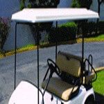 Blue Dot Top Assembly- Club Car DS 82-99 80in (White)