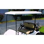 "80"" REPLACEMENT TOP FOR EZGO RXV W/ PMI SEAT(WHITE)*Price Includes Oversize Surcharge"