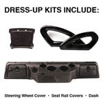 Club Car DS Carbon-Fiber Dress-up Kit (Fits 2000-Up)