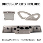 Club Car DS Titanium Dress-up Kit (Fits 2000-Up)