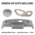 E-Z-GO TXT Titanium Dress-up Kit (Fits 2000-Up)