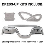 Yamaha Titanium Dress-up Kit (Models G29/ DRIVE)