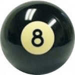 8-Ball Sport Shifter Knob (Universal Fit)