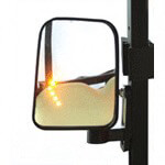 Side Mirror Set With LED Lights (Universal Fit)
