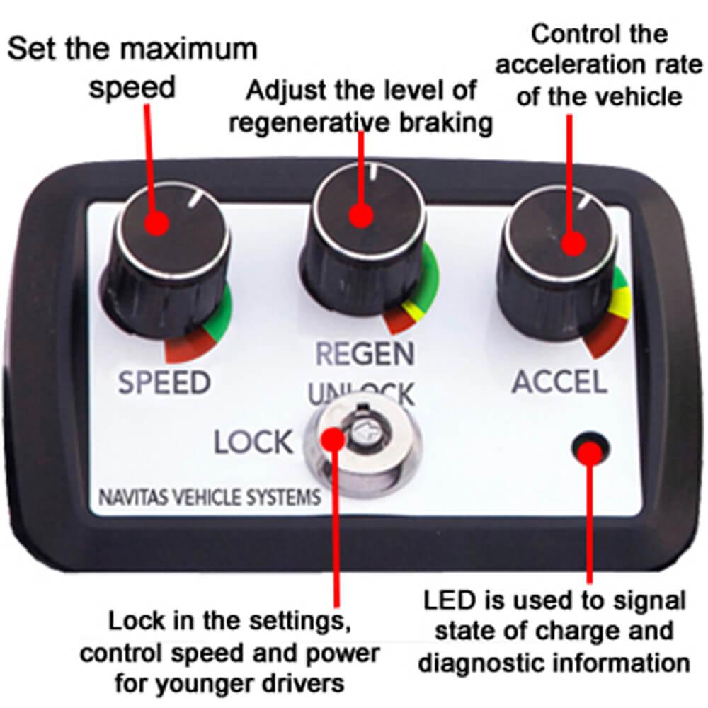 Club Car DS Precedent Navitas 600 Amp 48 Volt Controller