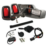 Premium E-Z-GO TXT GTW LED Light Kit (Fits 1994-2013)