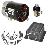 Speed & Torque Motor/ Controller Conversion System - Club Car DS
