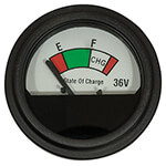36-Volt Analog State-Of-Charge Meter (Universal Fit)