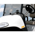 Clear E-Z-GO 1-Piece Windshield (Fits ST350 Models)