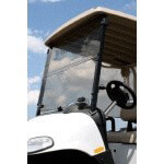 "Folding Windshield for EZGO RXV 1/ 4"" Thick(Clear)"