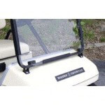 Clear Yamaha As4 /  As5 1-Piece Windshield (Models G2/ G9)
