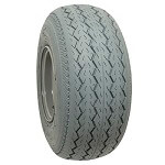 18.5x8.50-8 Grey Sawtooth Street Tire (No Lift Required)