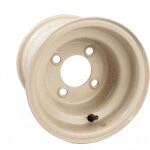 8x7 Stonebeige Steel Wheel (Centered)