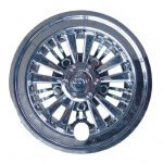 "8"" Chrome Medusa Wheel Cover"
