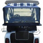 Club Car DS Sunbrella Blue Club Protector (Fits 1982-1999)