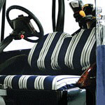 Yamaha G14-G22 Navy/ Natural Classic Seat Cover